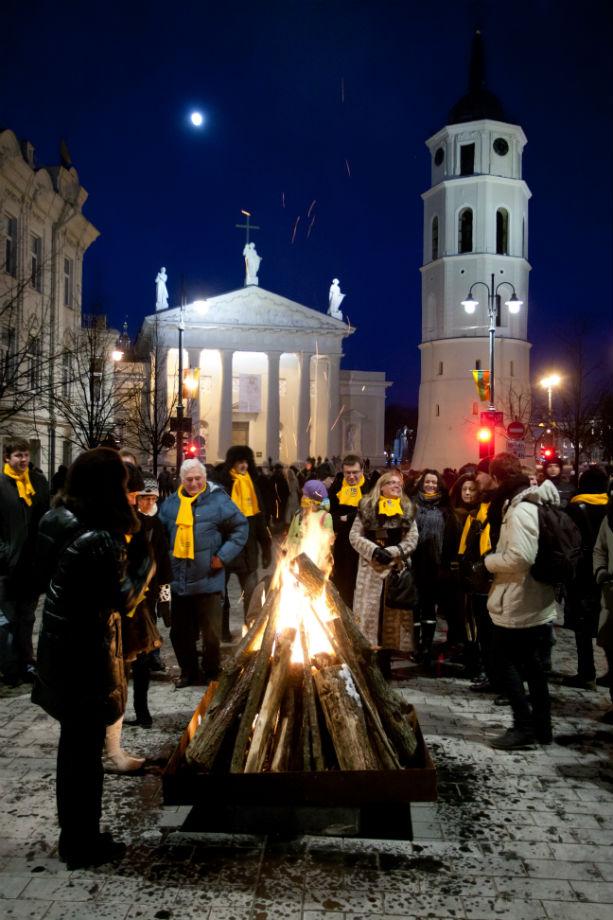 Vasario 16-oji: šventę reikia švęsti!
