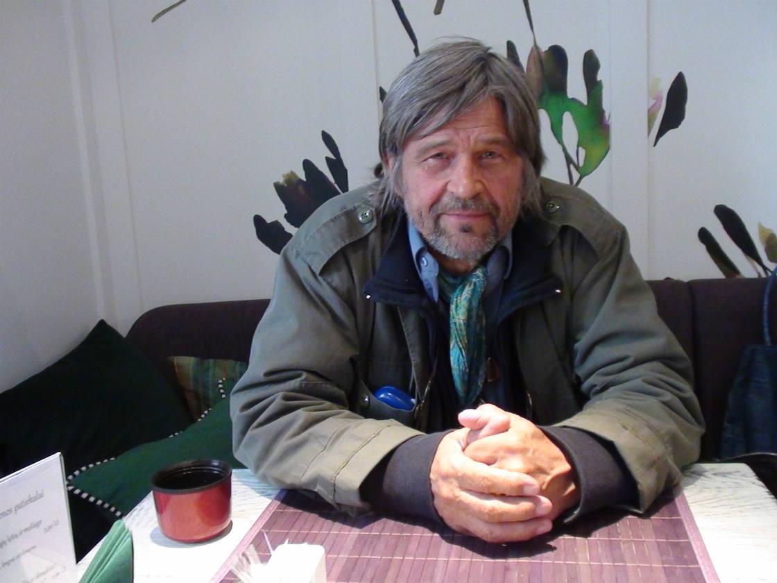 P.Normantas – apie Vilnių, poeziją ir mados tendencijas