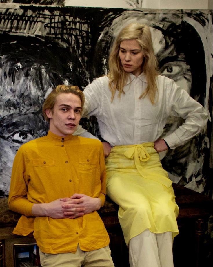 "JMVMC - Agatha Isobel ir Deniso Kolomyckio paroda ""SELF"""