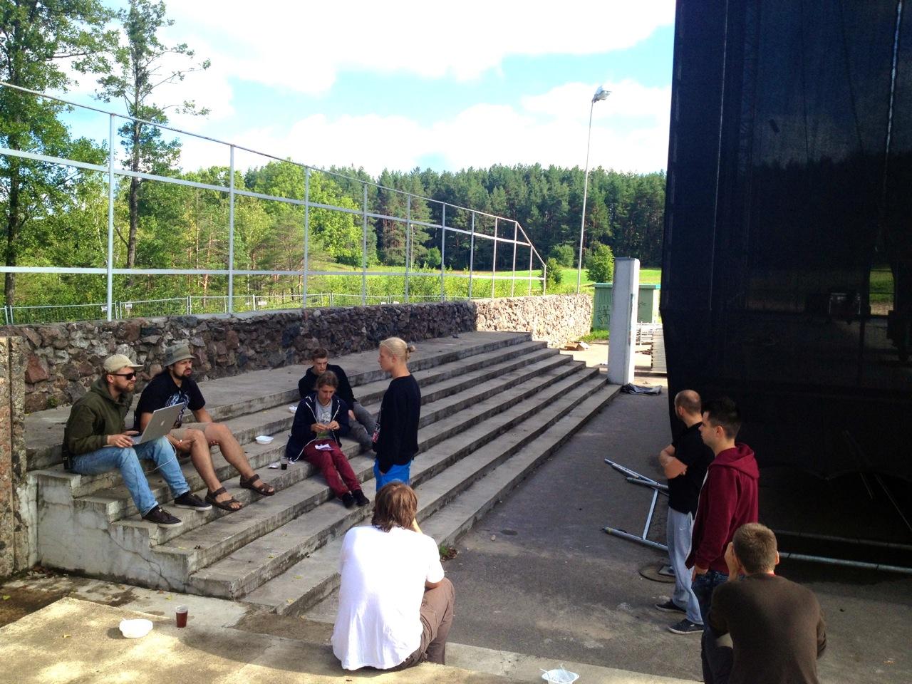 Zaraso saloje ruošiamasi didžiausiam metų muzikos ir pramogų festivaliui