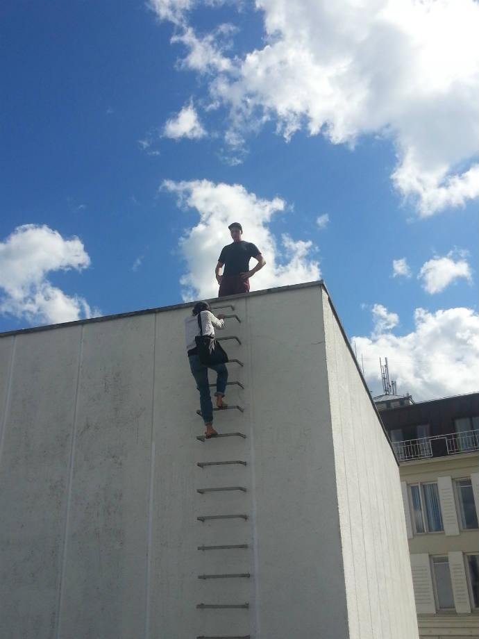 Vilniuje jau kuria vienas trokštamiausių gatvės menininkų Markas Jenkinsas iš JAV
