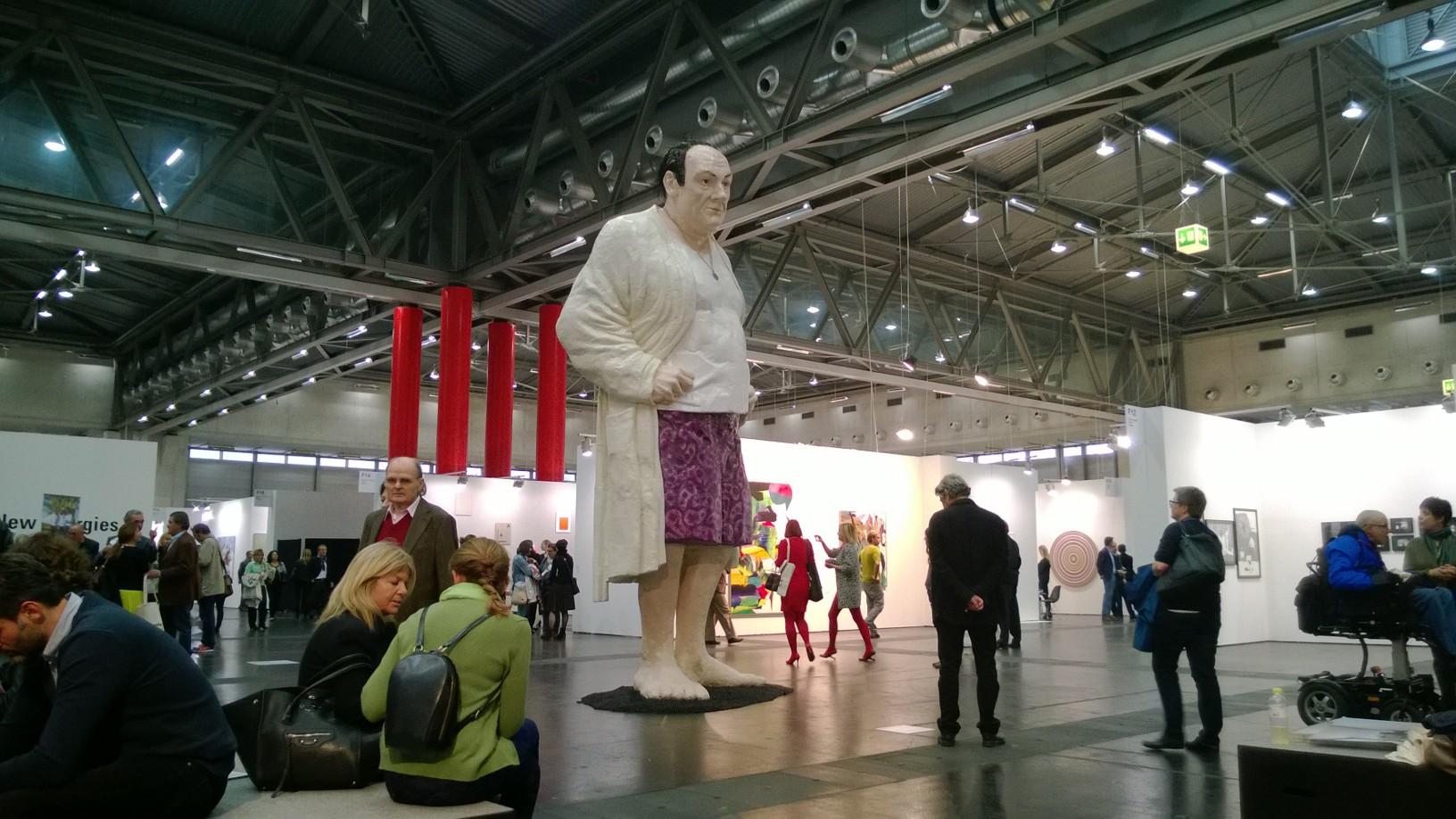 ŠMC pristato Donato Jankausko skulptūrą Vienos meno mugėje
