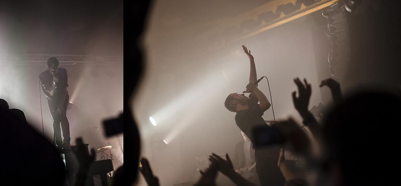 """Vilniaus melomanus apjungė įspūdingas britų """"Editors"""" koncertas (foto)"""