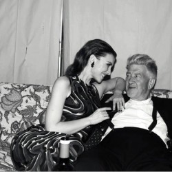 Chrysta Bell and David Lynch
