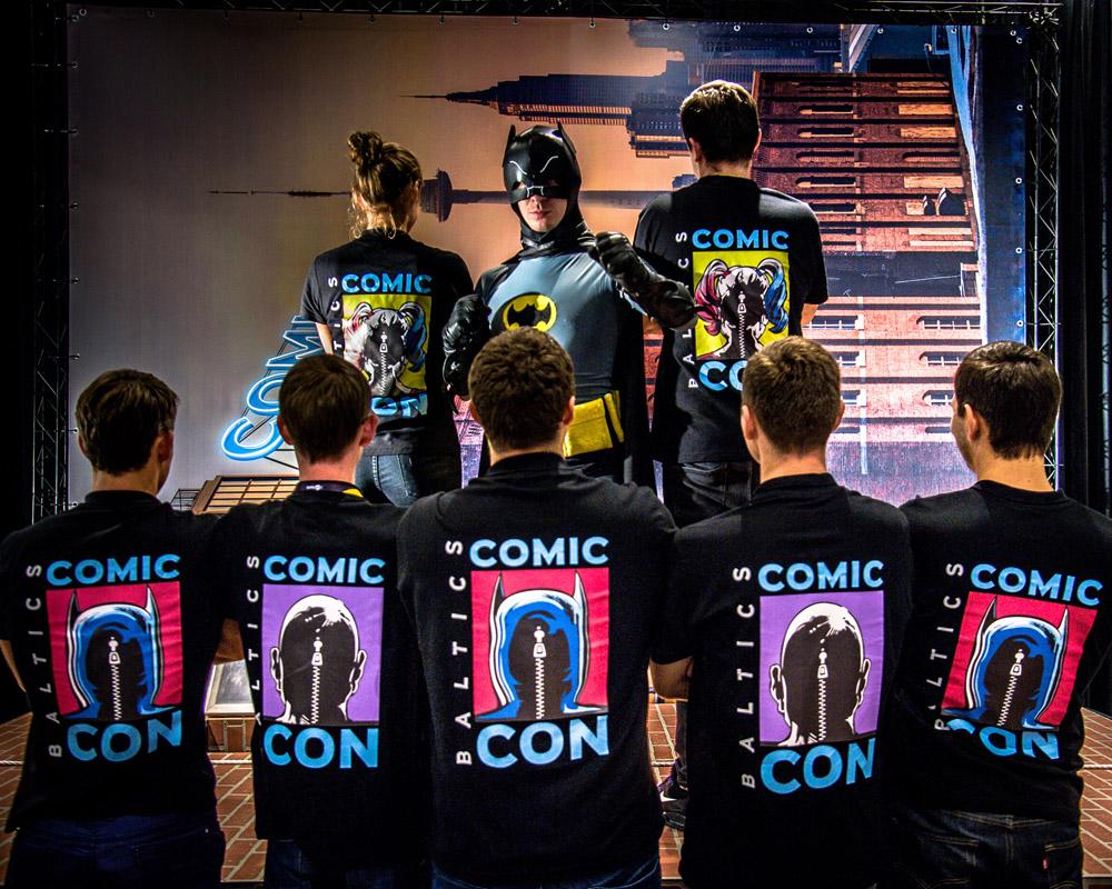 """Popkultūros mėgėjai laukiami """"Comic Con Baltics"""""""