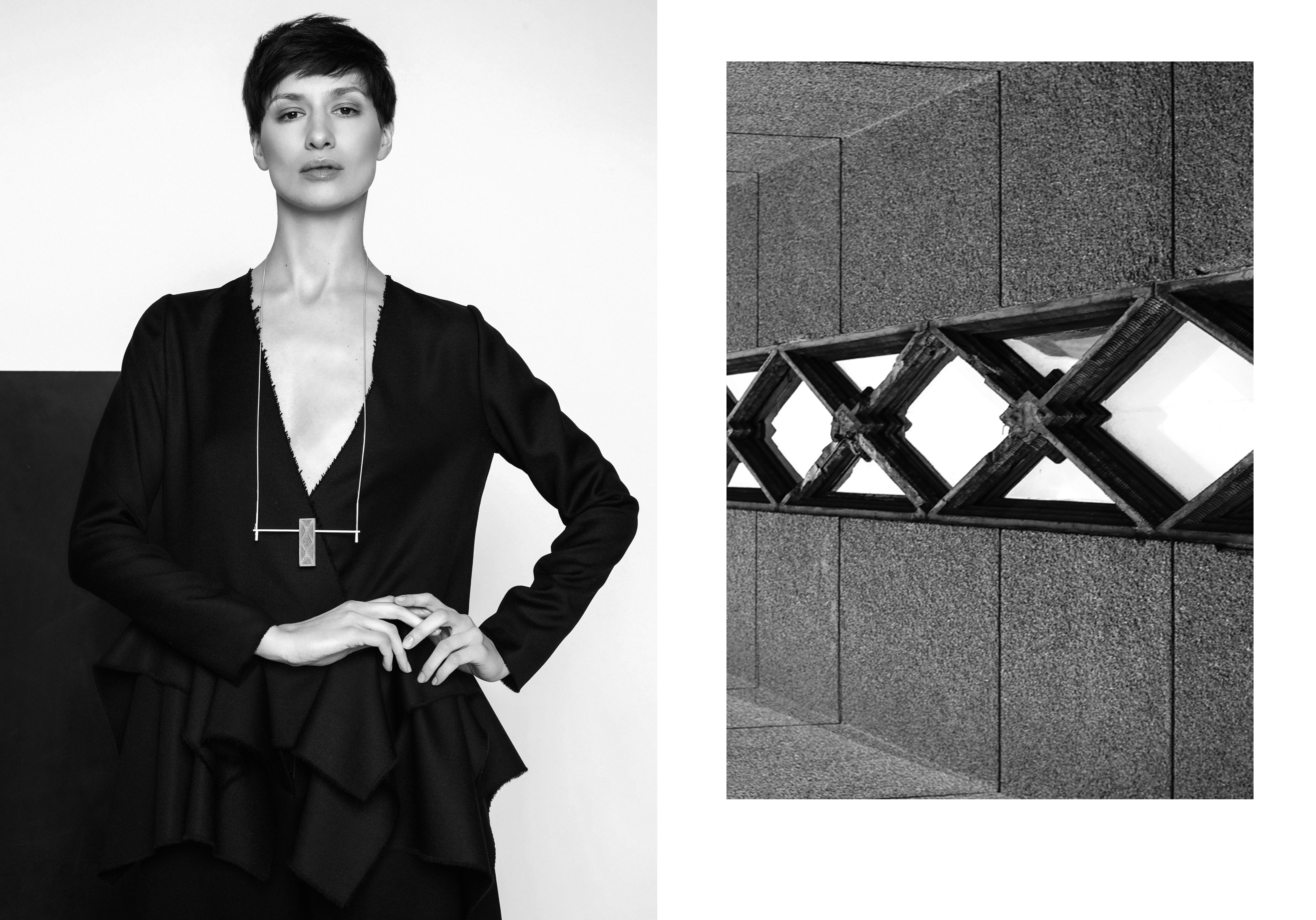 Juvelyrė Gerda Liudvinavičiūtė: kurti mane įkvepia architektūra
