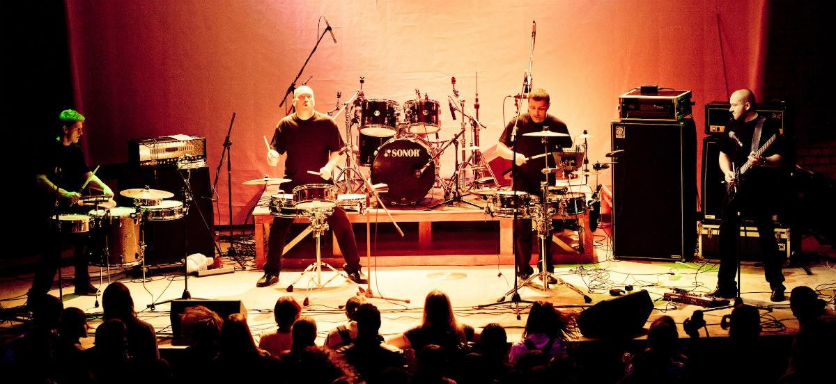 """Neįprastame koncerte – būgnininkai iš Baltarusijos """"Drum Ecstasy"""""""