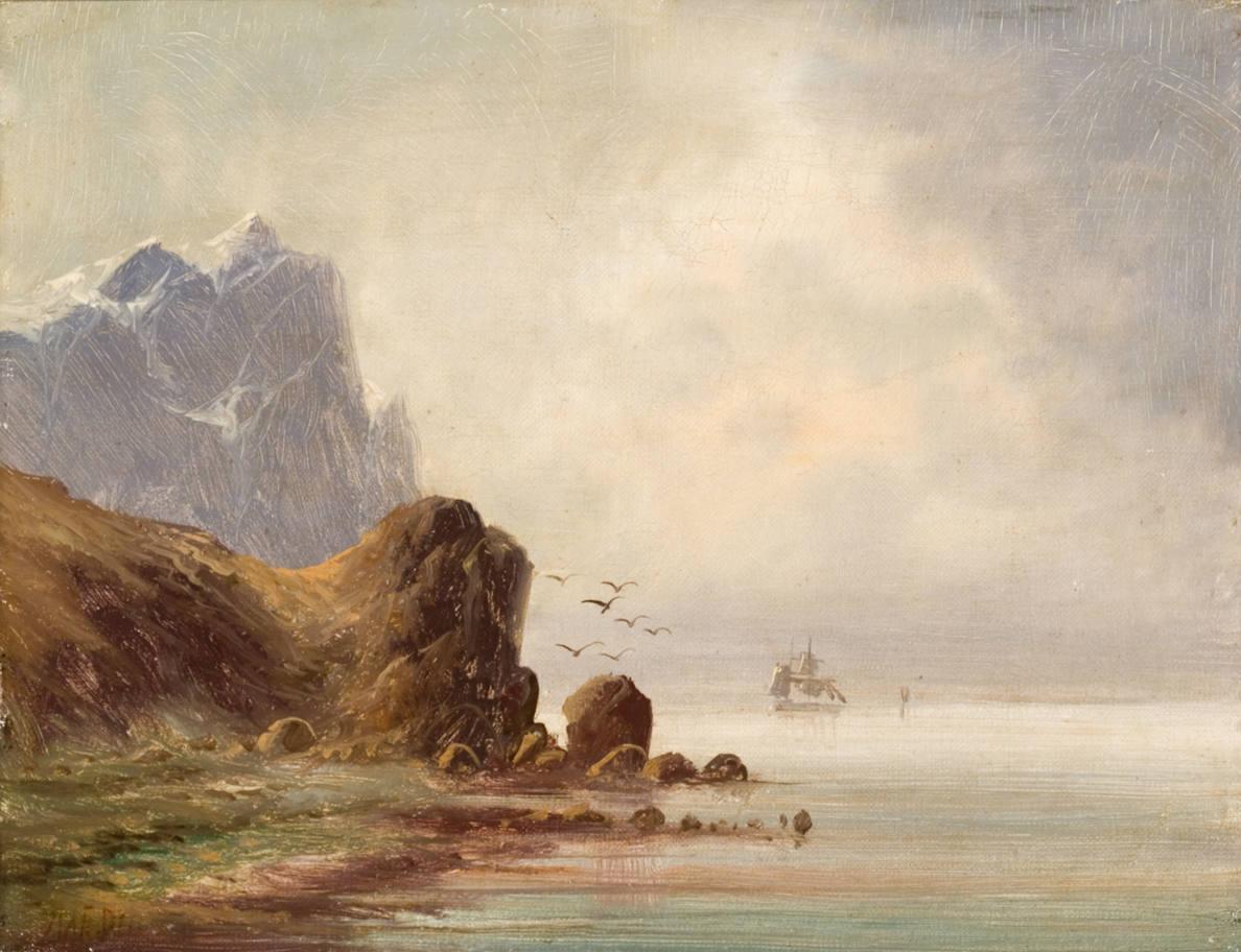 Radvilų rūmų muziejuje - marinistinių peizažų paroda