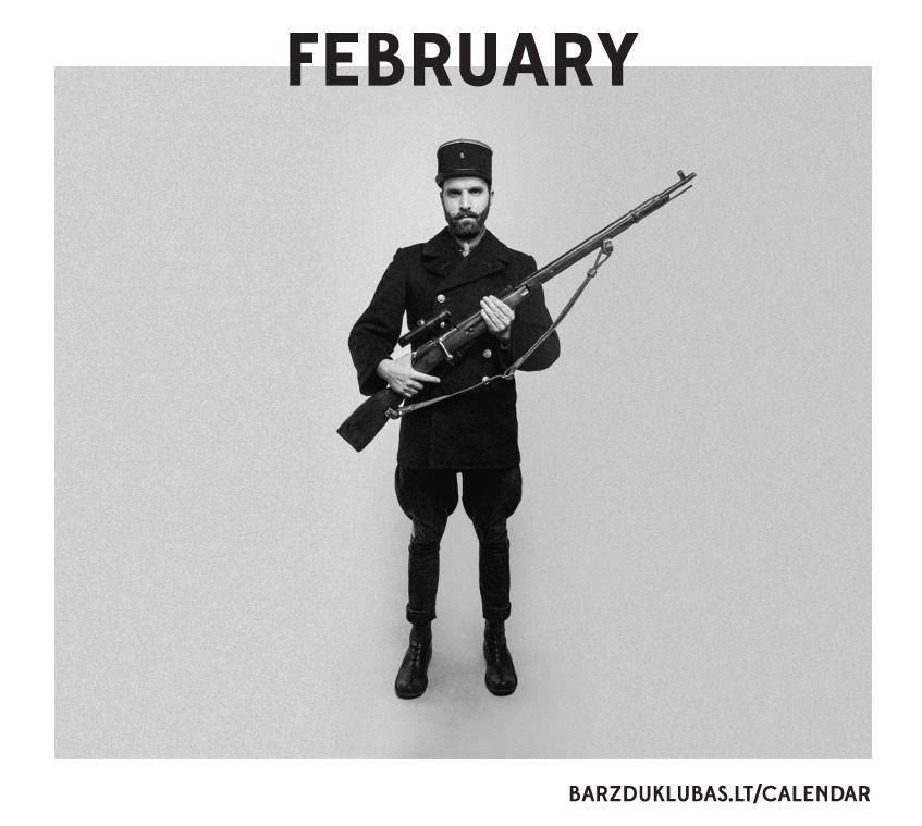 """""""Barzdų klubo"""" Valentino dienos leidinys kėsinasi nurungti nuogų merginų kalendorius"""