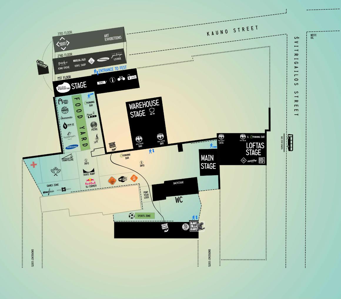 Loftas Fest 2013: Paaiškėjo, kas atidarys festivalį, paviešintas ir festivalio planas
