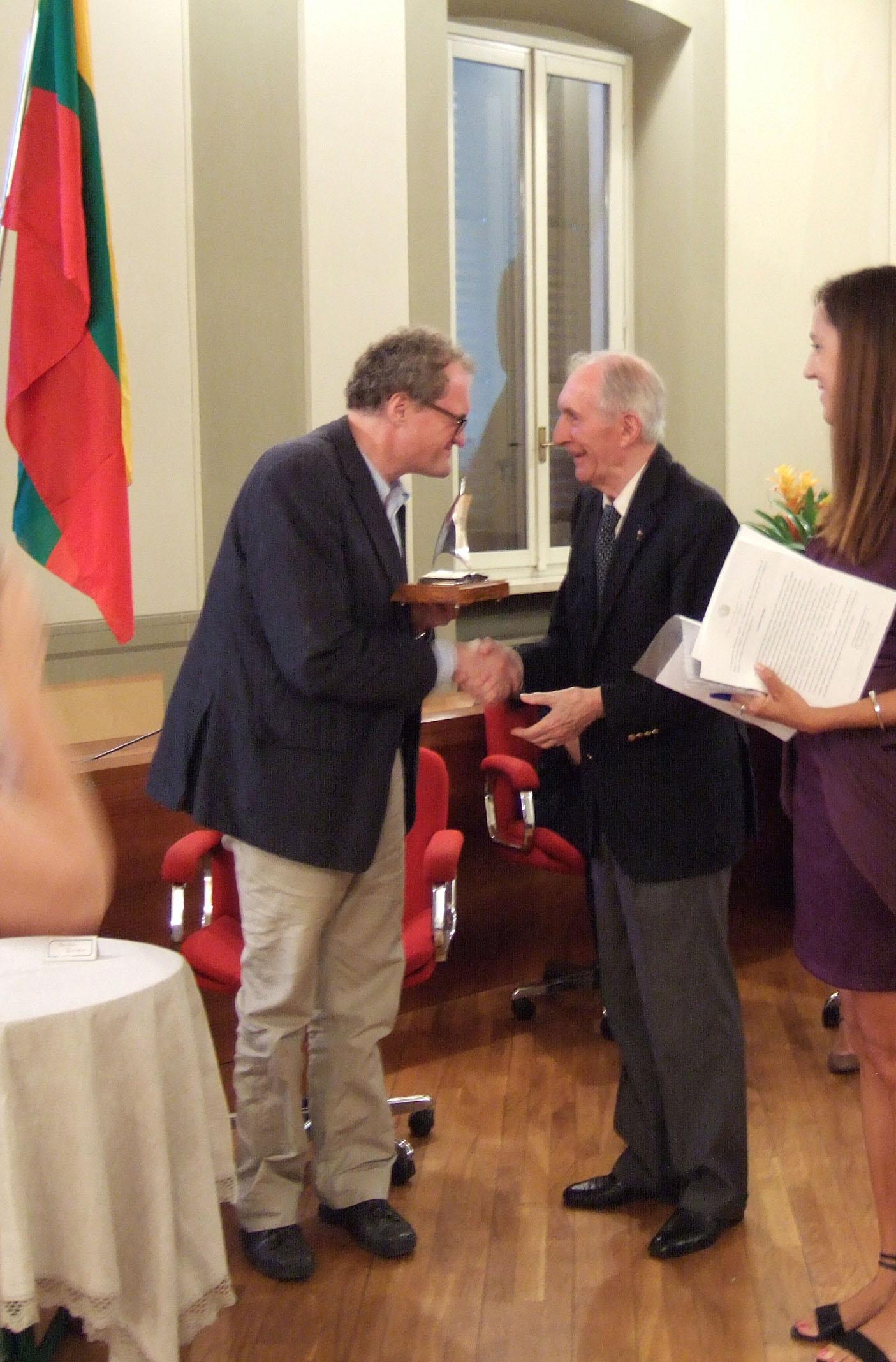 "Leonidui Donskiui - ""Giuseppe Acerbi"" premija"