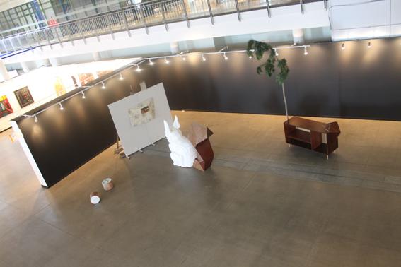 AV17 -  skulptoriaus ir objektų kūrėjo Nerijaus Ermino paroda