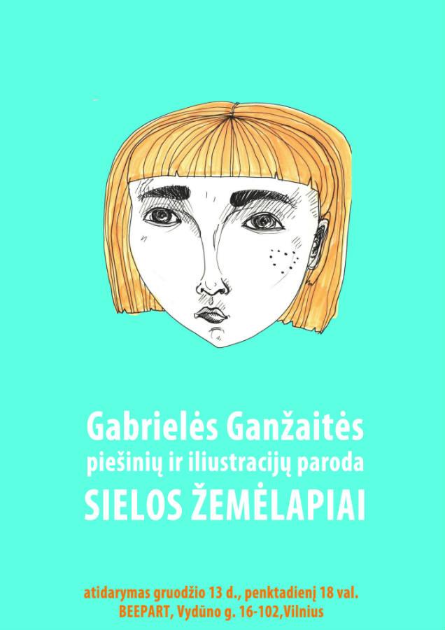Gabrielės Ganžaitės paroda