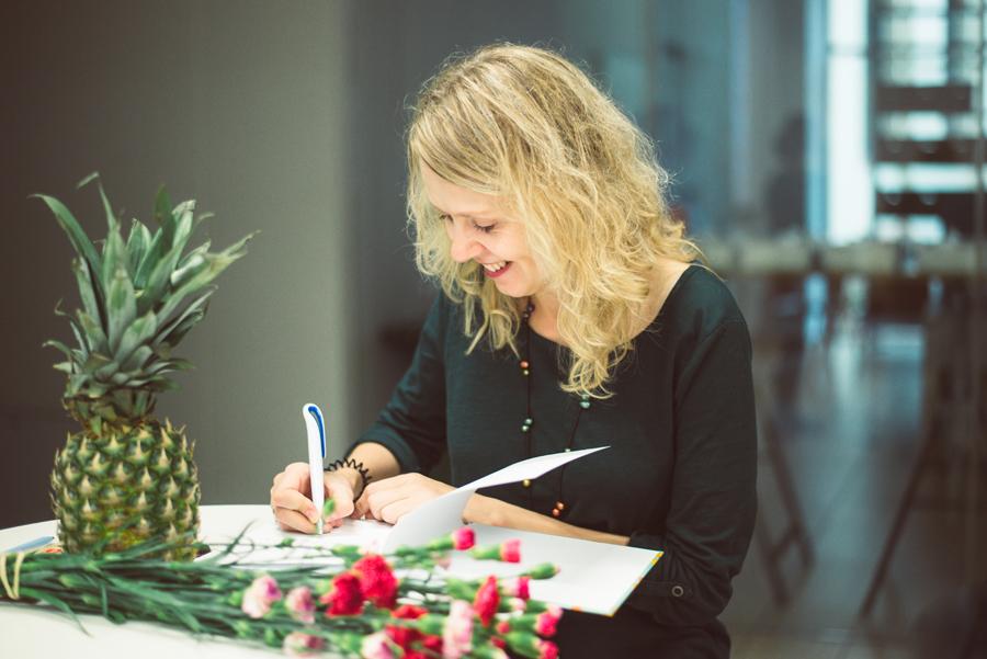 Rašytoja E.Daciūtė: nežinau, ar galima išmokti rašyti vaikams